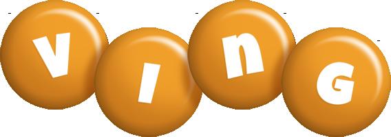 Ving candy-orange logo