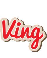 Ving chocolate logo