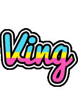 Ving circus logo