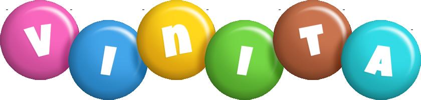 Vinita candy logo