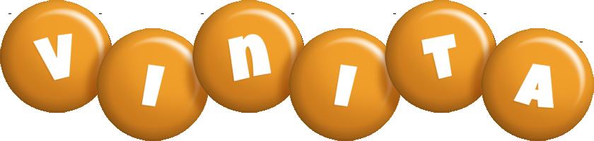 Vinita candy-orange logo