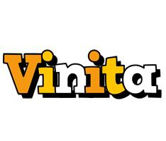Vinita cartoon logo