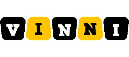 Vinni boots logo