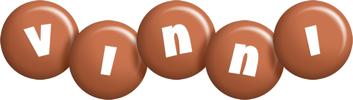 Vinni candy-brown logo