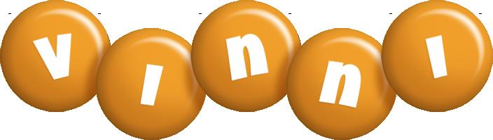 Vinni candy-orange logo