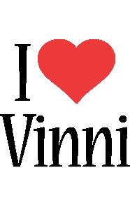 Vinni i-love logo