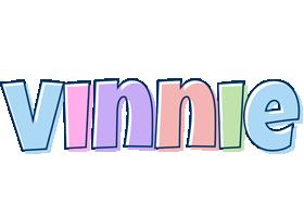 Vinnie pastel logo