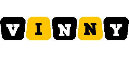 Vinny boots logo
