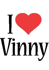 Vinny i-love logo