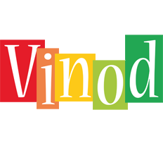 Vinod colors logo