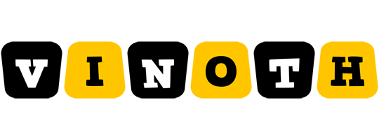 Vinoth boots logo