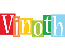 Vinoth colors logo