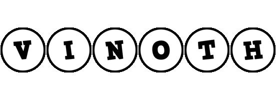 Vinoth handy logo