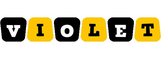 Violet boots logo