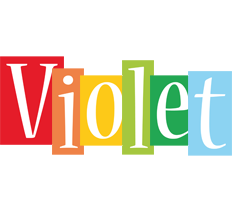 Violet colors logo
