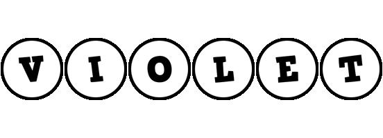 Violet handy logo