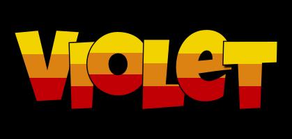 Violet jungle logo