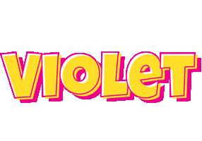 Violet kaboom logo
