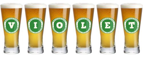 Violet lager logo
