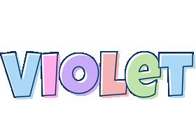 Violet pastel logo