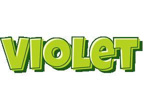 Violet summer logo