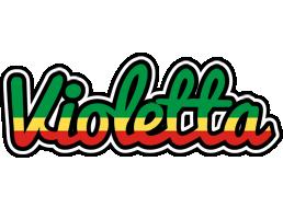 Violetta african logo