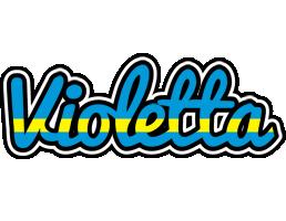 Violetta sweden logo