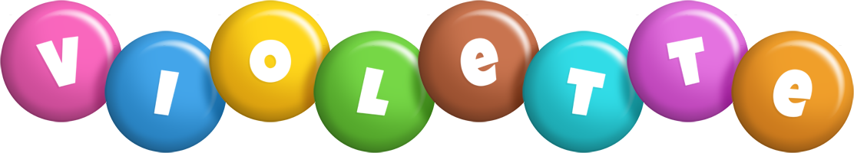Violette candy logo