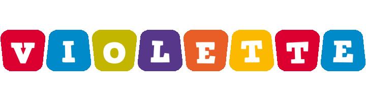 Violette daycare logo