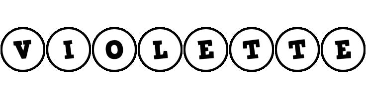 Violette handy logo