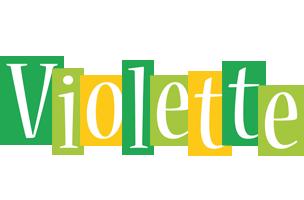 Violette lemonade logo