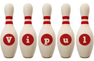 Vipul bowling-pin logo