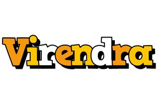 Virendra cartoon logo