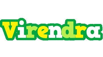 Virendra soccer logo