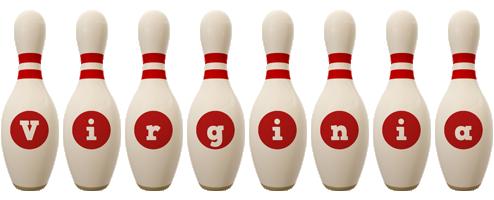Virginia bowling-pin logo
