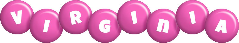 Virginia candy-pink logo