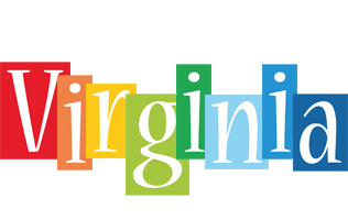 Virginia colors logo