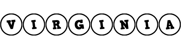 Virginia handy logo