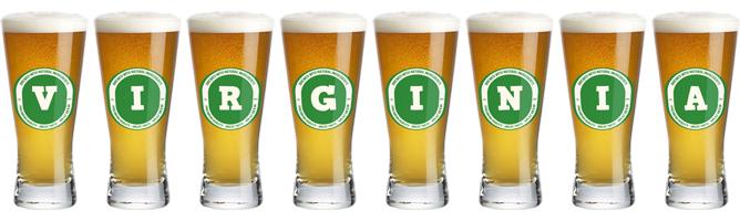 Virginia lager logo
