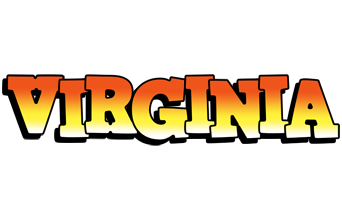 Virginia sunset logo