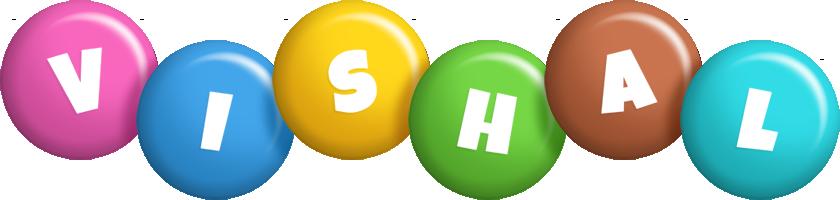 Vishal candy logo