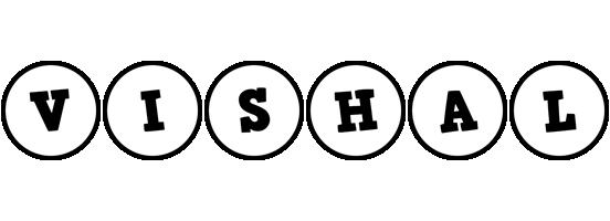 Vishal handy logo