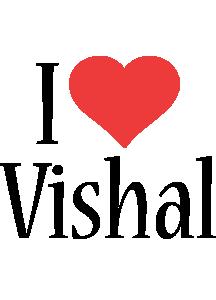 Vishal i-love logo