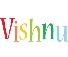 Vishnu birthday logo