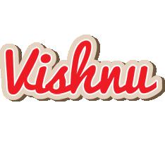 Vishnu chocolate logo