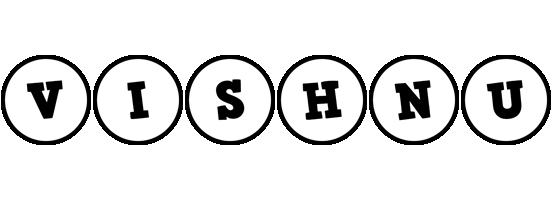 Vishnu handy logo