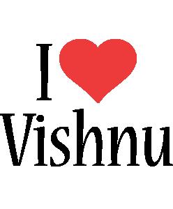 Vishnu i-love logo