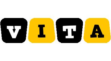 Vita boots logo