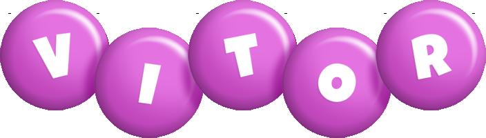 Vitor candy-purple logo