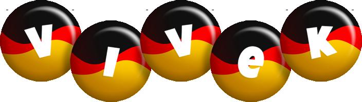 Vivek german logo
